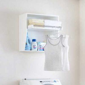 洗濯スペースも有効利用!